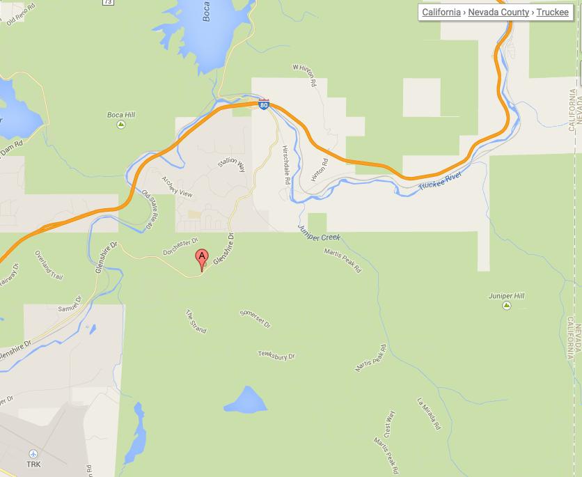 google map glenshire